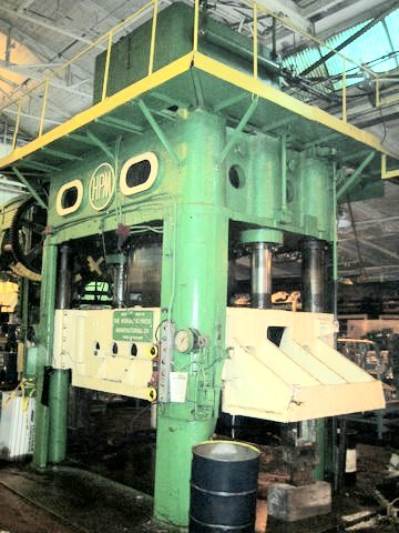 HPM used 4 poist hydraulic stamping press